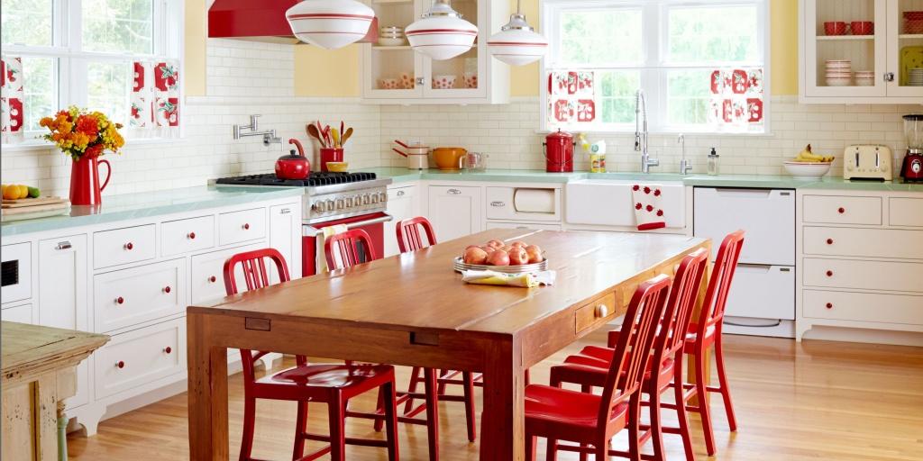 Splendid retro kitchen