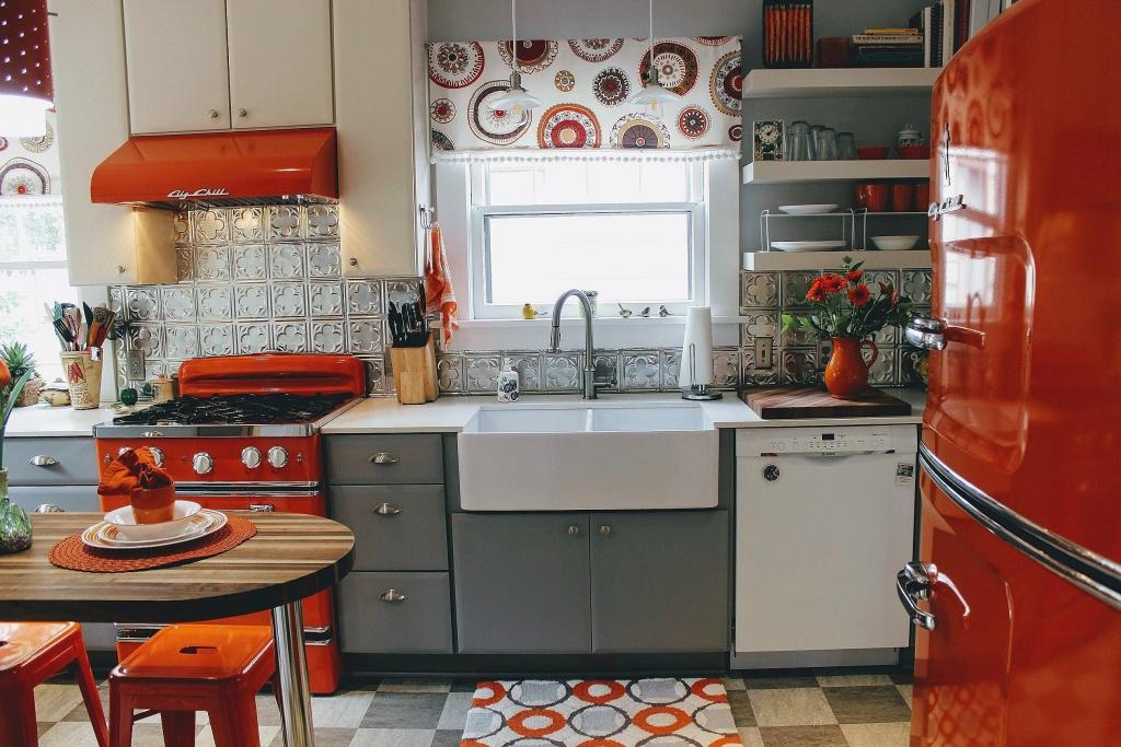 Enthusiastic retro kitchen
