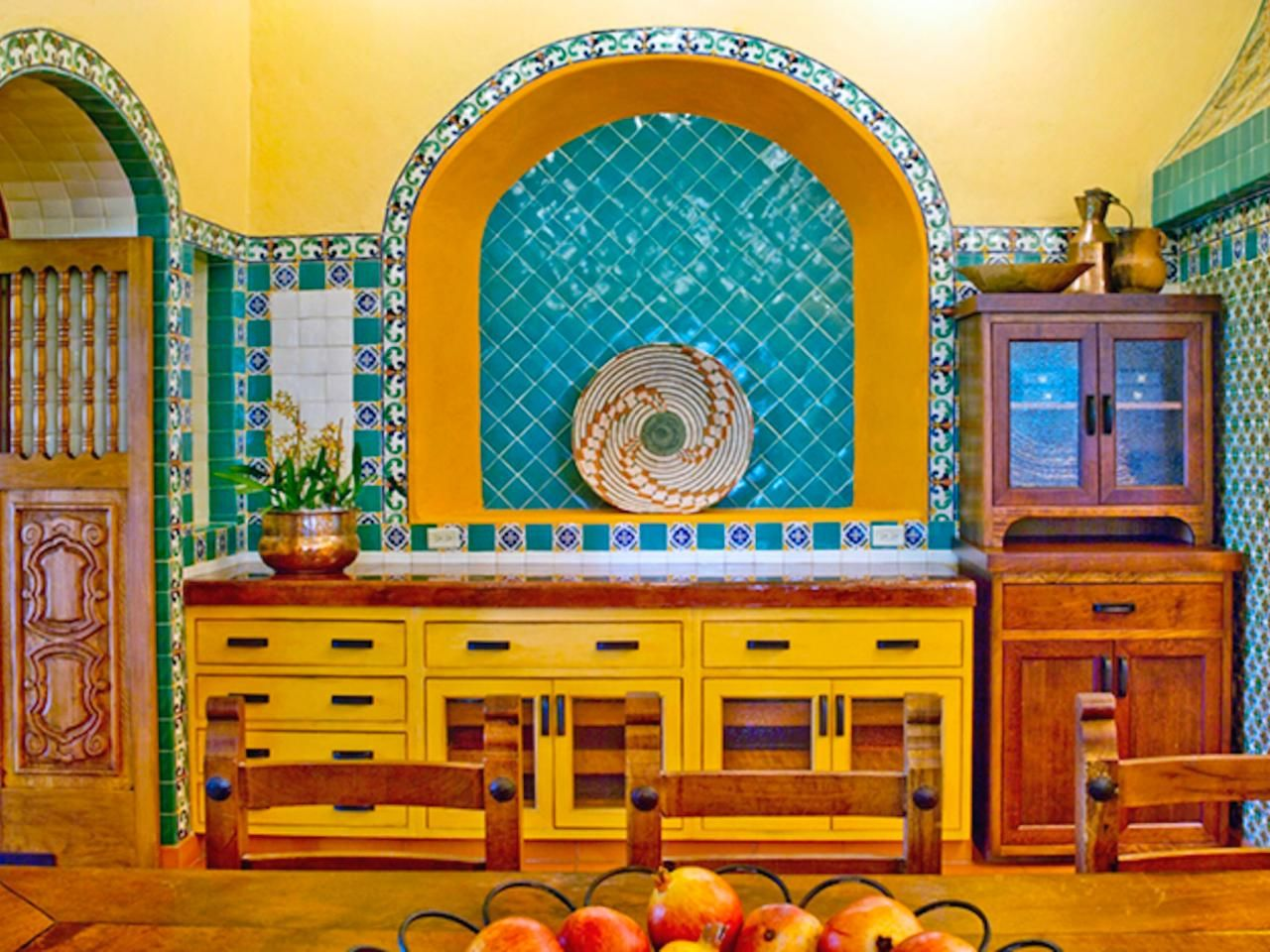 Fascinatingly colorful cuisine