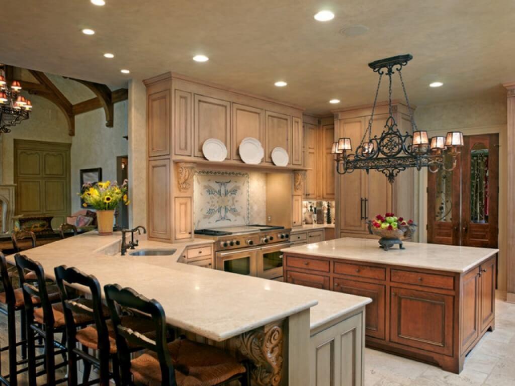 Exquisite kitchen chandelier