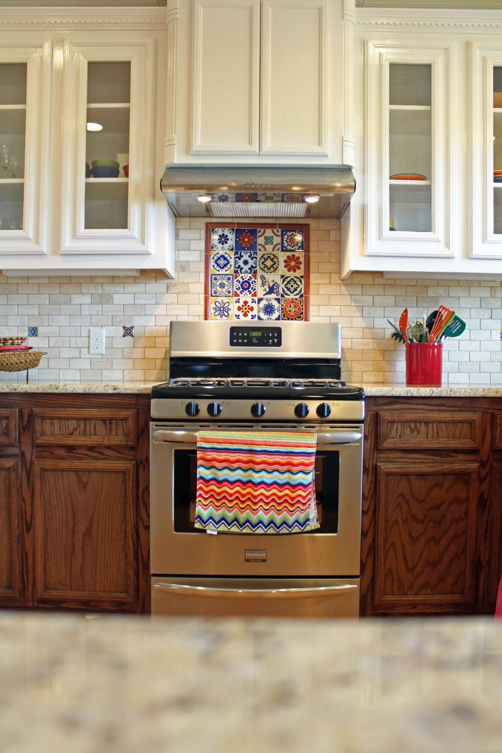 Colored kitchen utensil holder