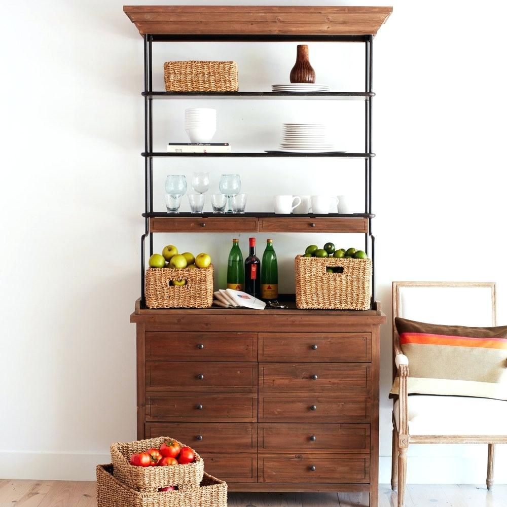 Trendy kitchen cabinet