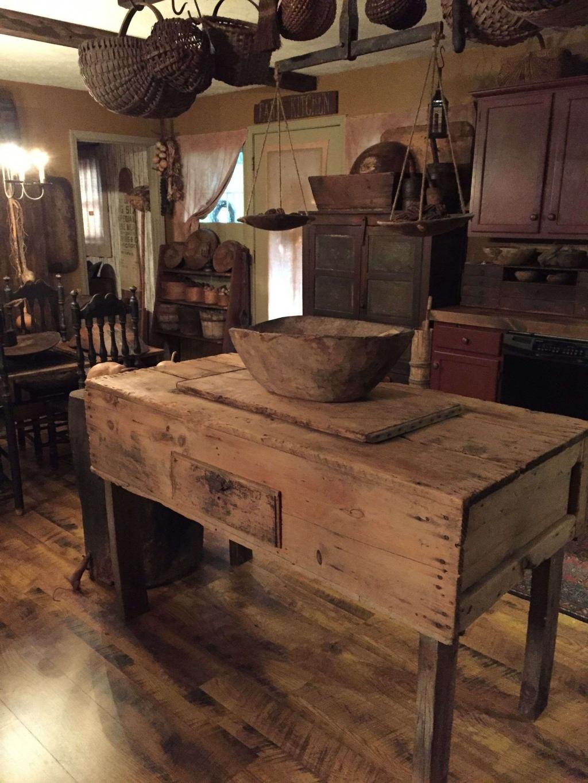 Old primitive kitchen
