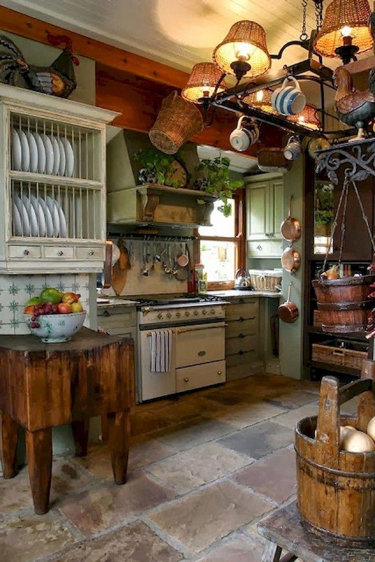 Nice primitive kitchen