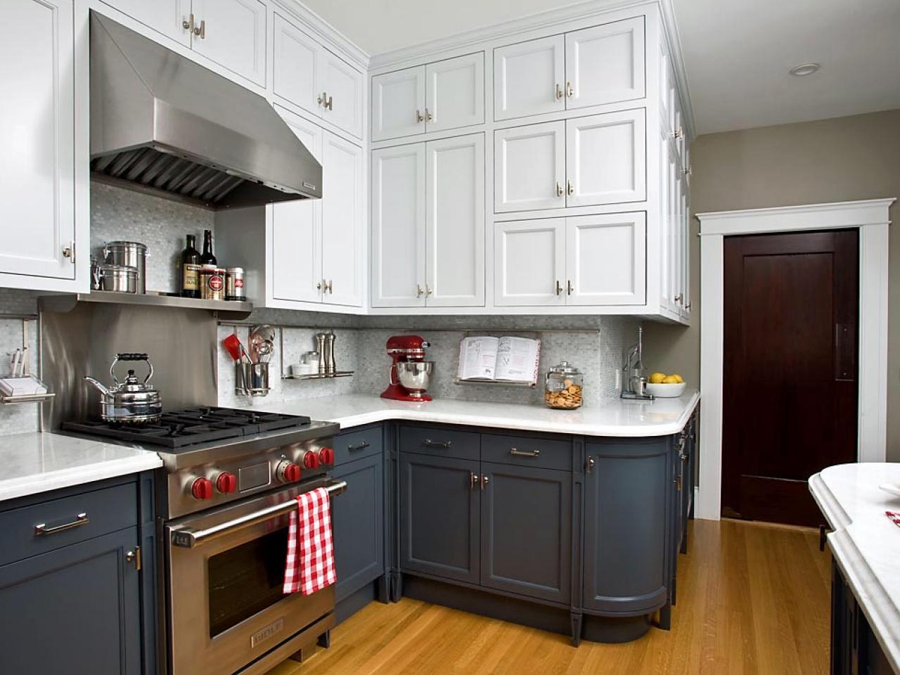 Efficient modern kitchen