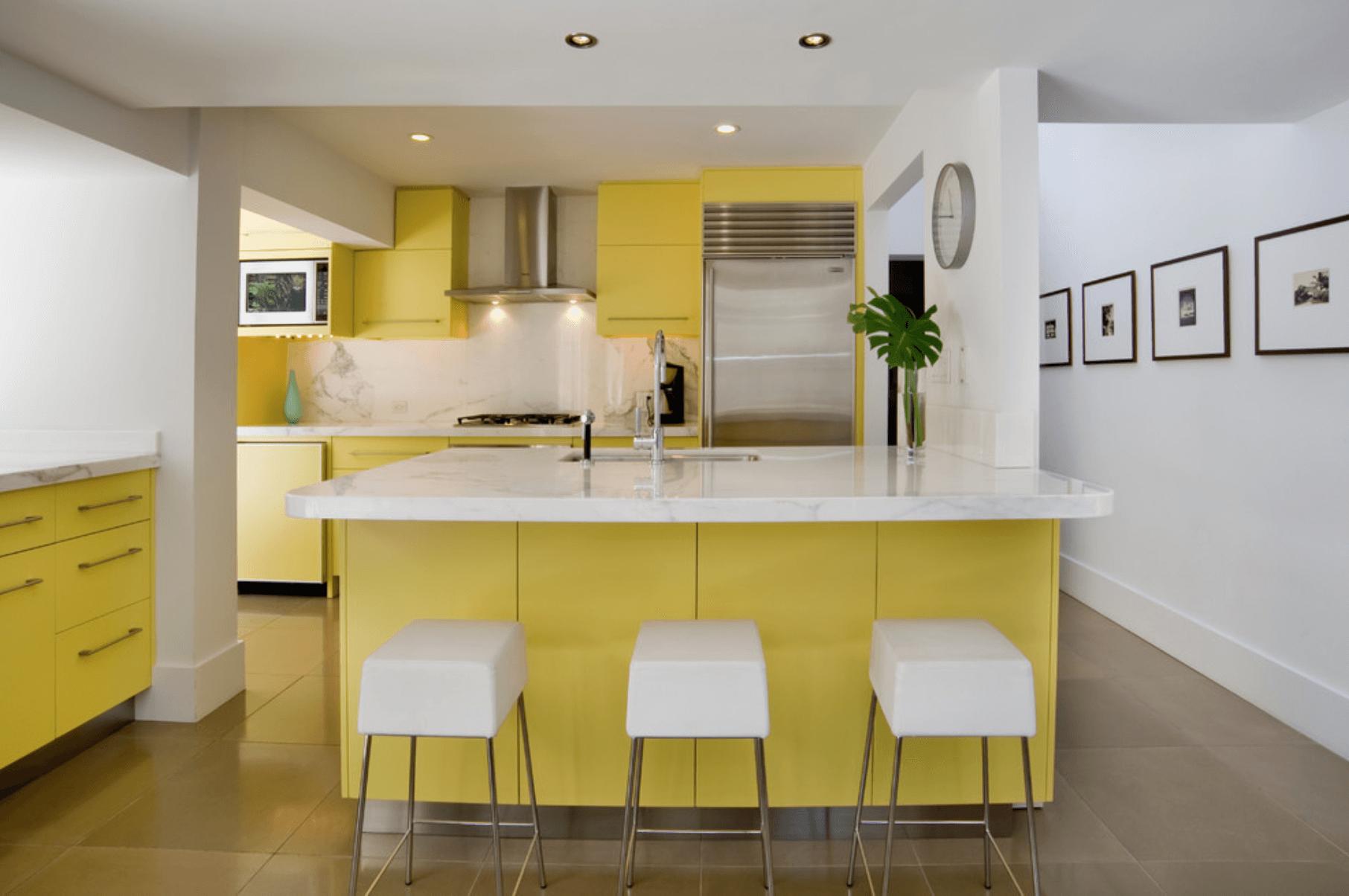 Happy modern kitchen