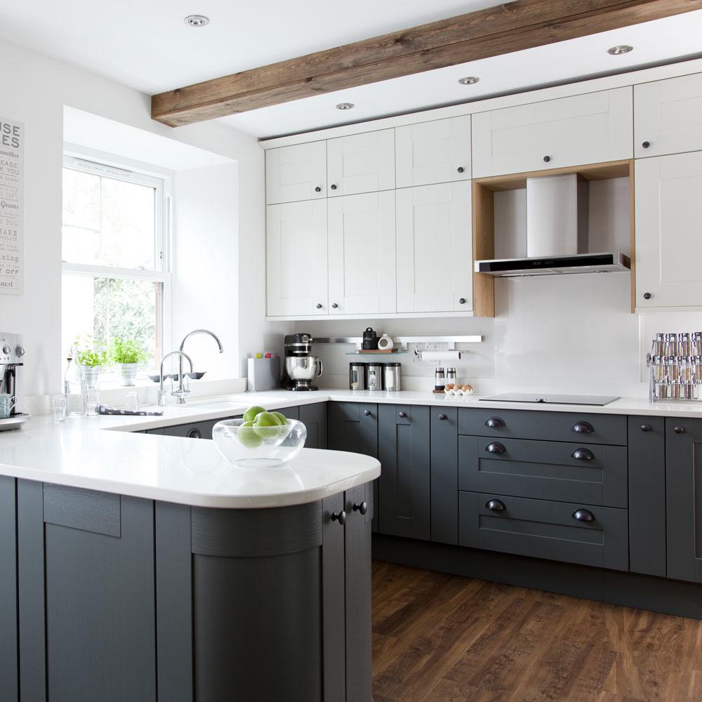 Comfortable modern kitchen