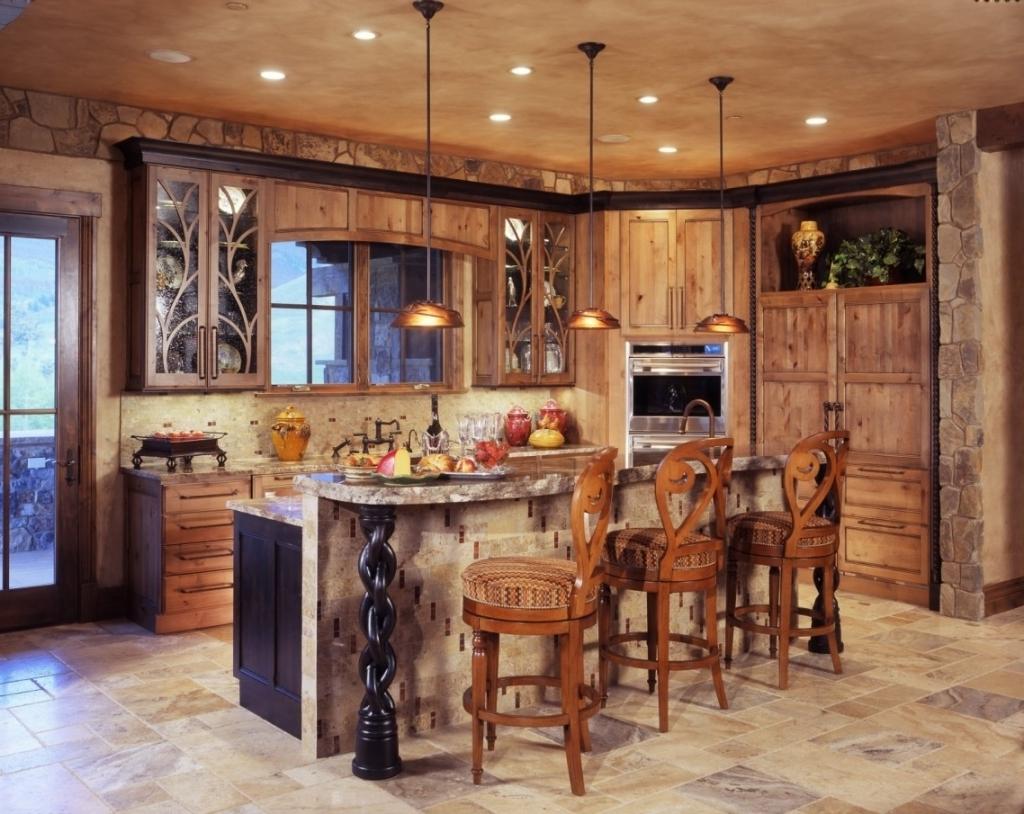 Deluxe cottage kitchen