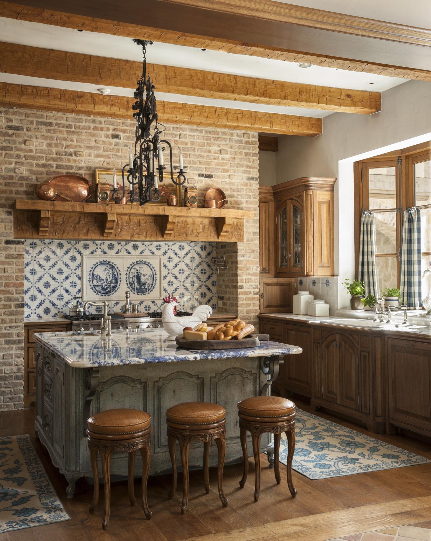 Classic, inexpensive kitchen island