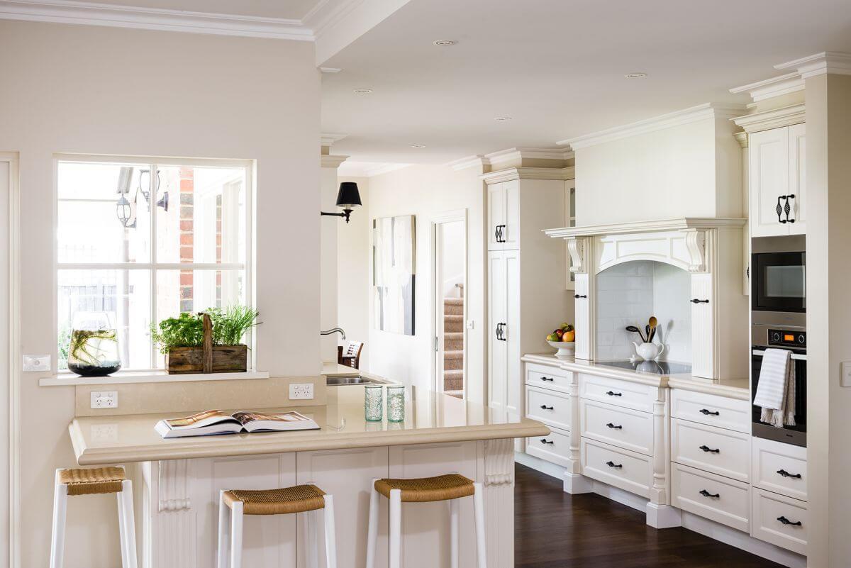 Practical storage in the kitchen