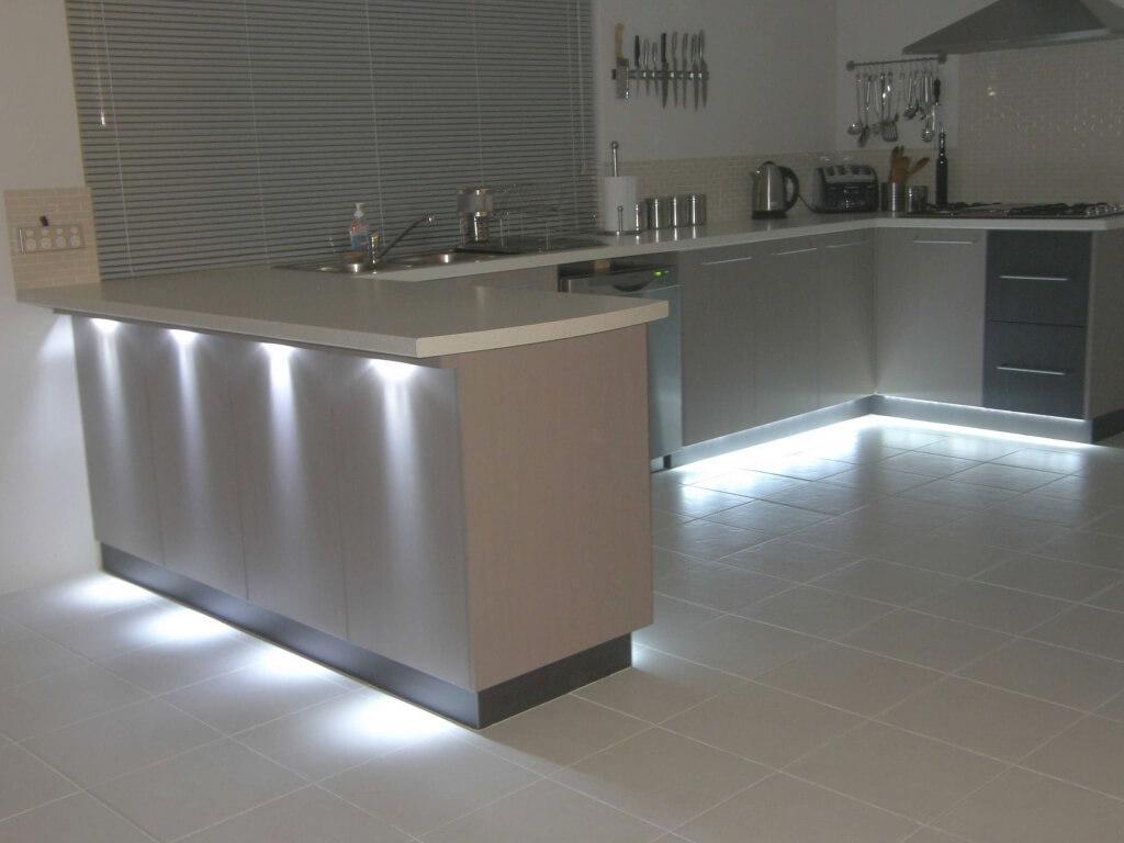 Cozy gray kitchen