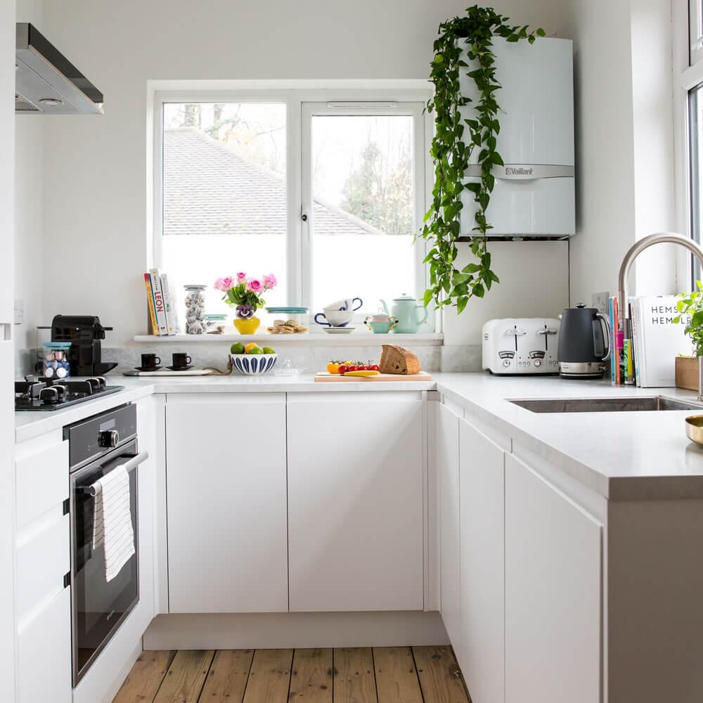 Natural kitchen floor