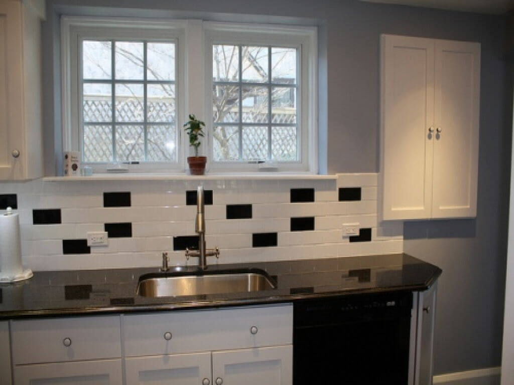 Simple kitchen window