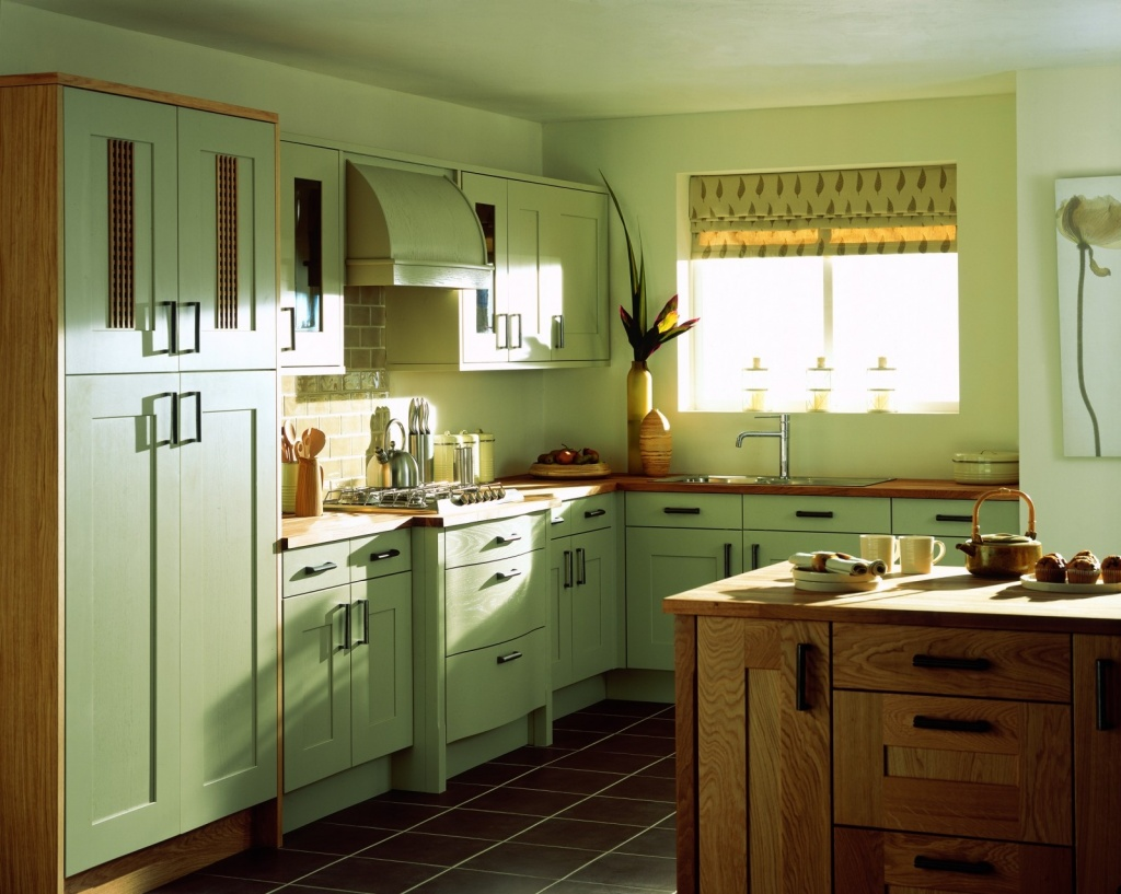 Fresh kitchen window