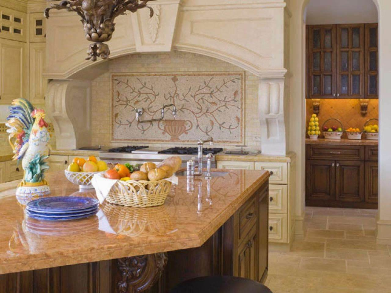 Kitchen island with a delightful sink