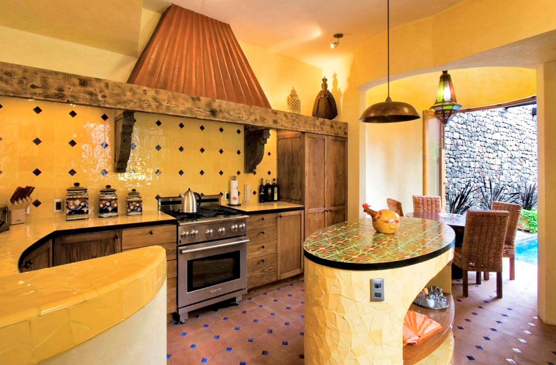 Cute kitchen island storage