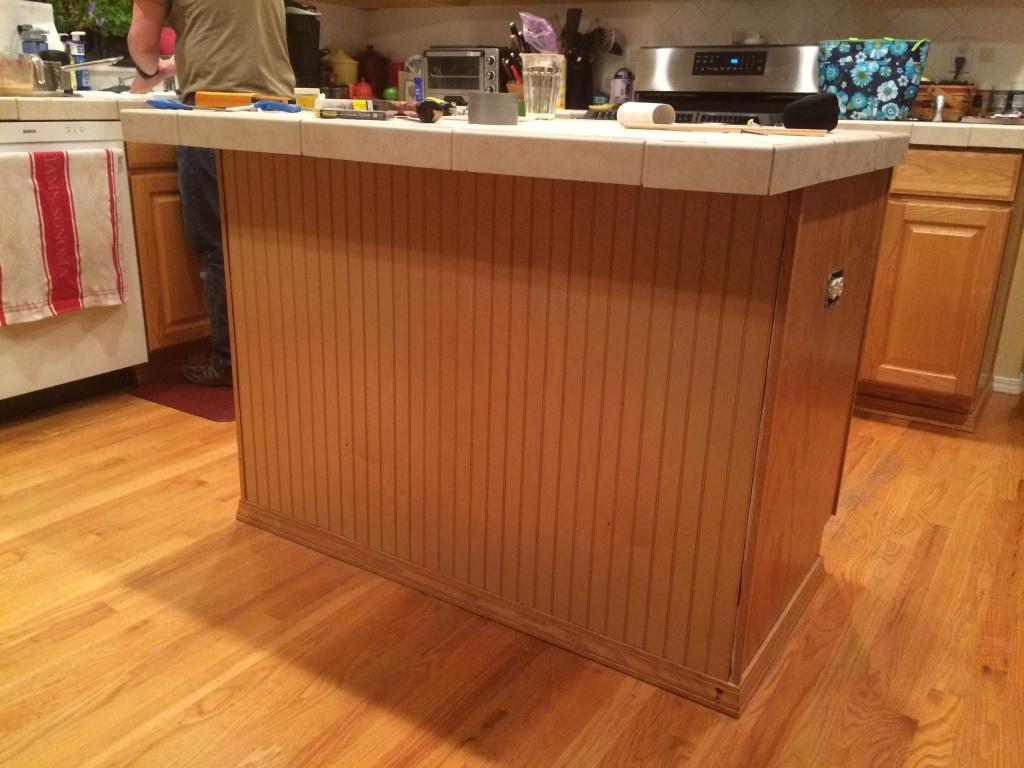 Warm kitchen floor