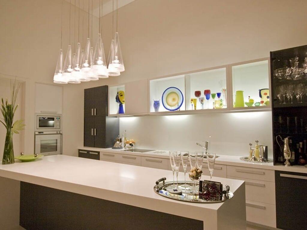 Generous kitchen area