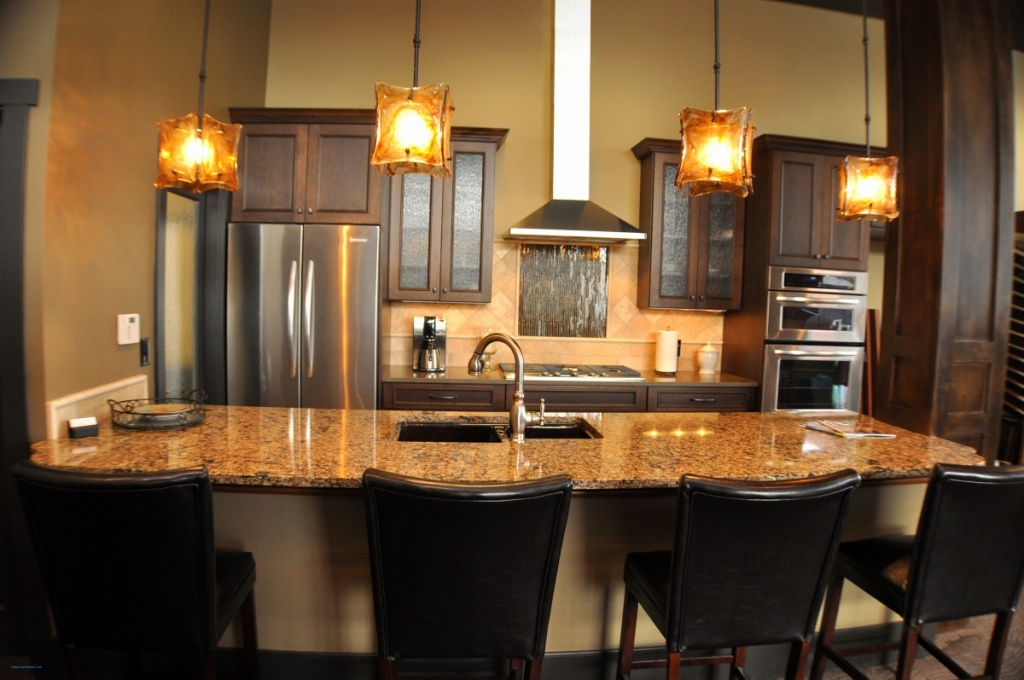 Formal seating idea for kitchen islands