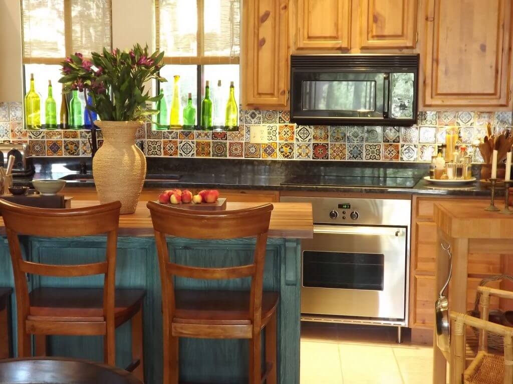 Traditional, inexpensive kitchen island