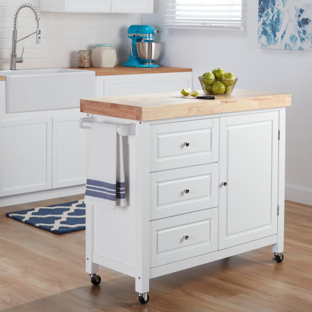 Effective kitchen island trolley