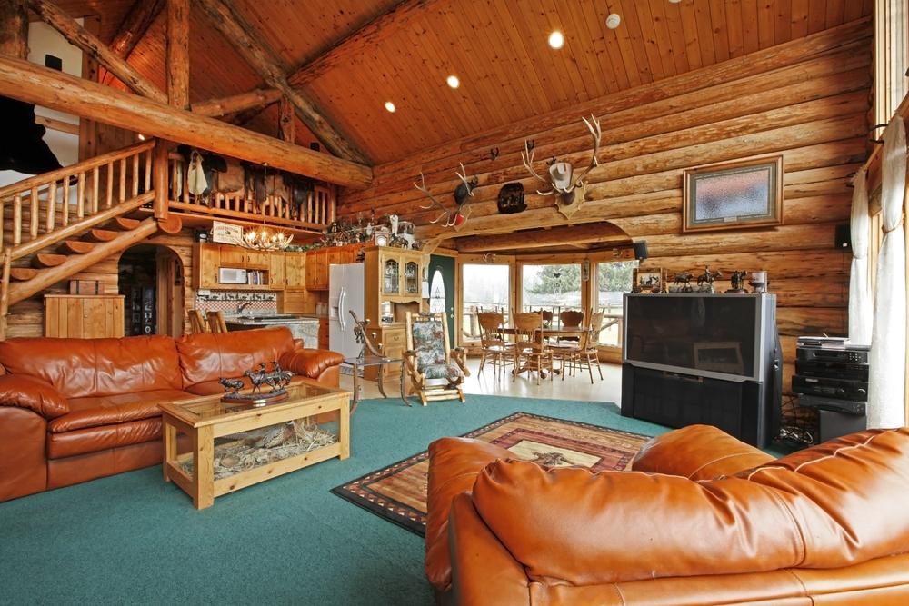 Stunning cottage living room