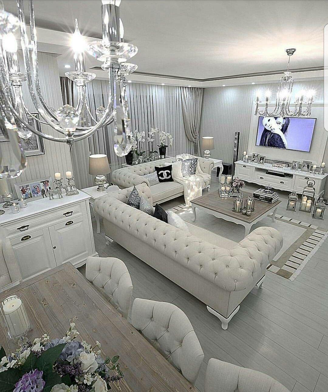 Crystal clear glamor style