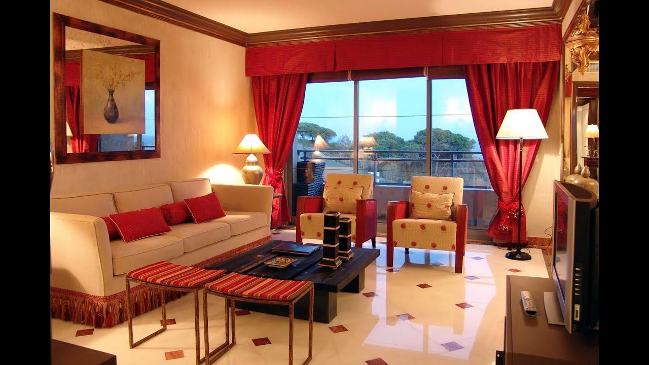 Bright, elegant living room.
