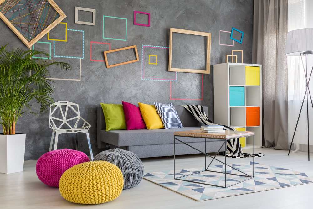 Wall art only with frame