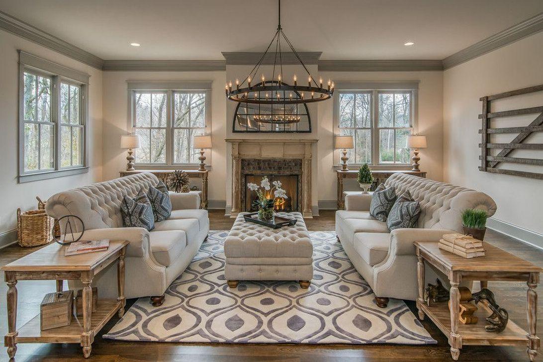 Classic, casual living room