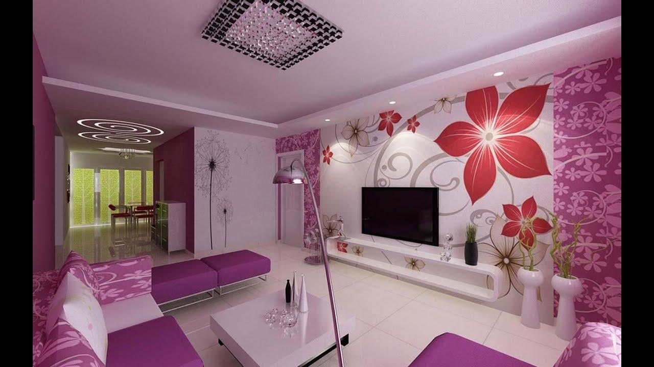Romantic feeling wallpaper design.