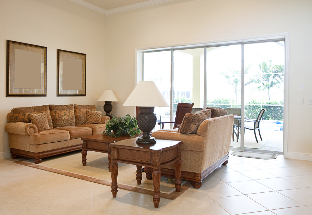 Living room color beige