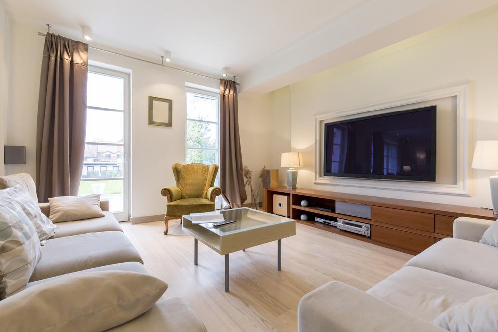 Modern deluxe living room