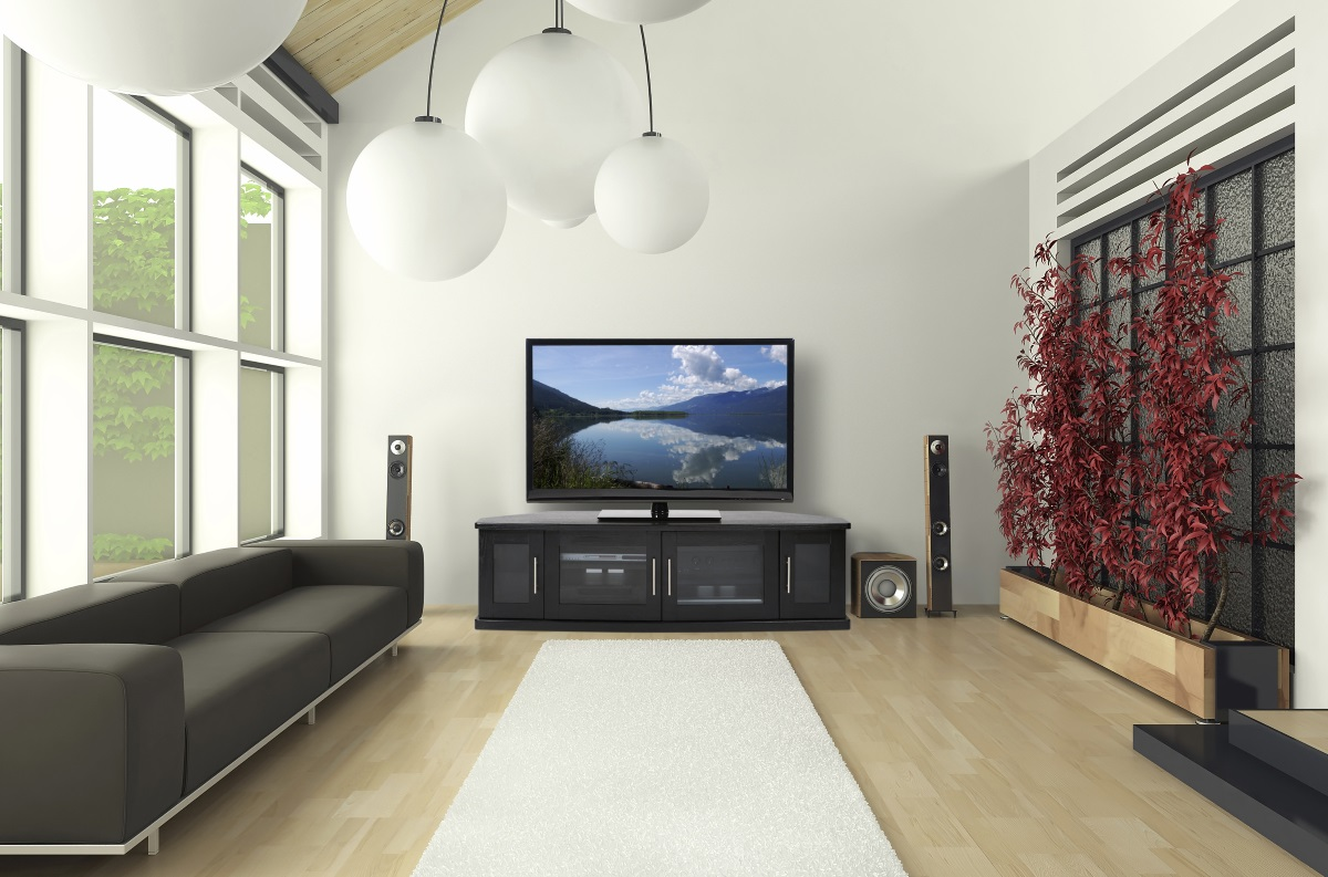 TV via DVD storage idea.  Source: Antiquesl.com