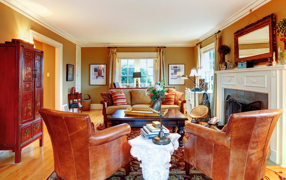 Complicated living room arrangement