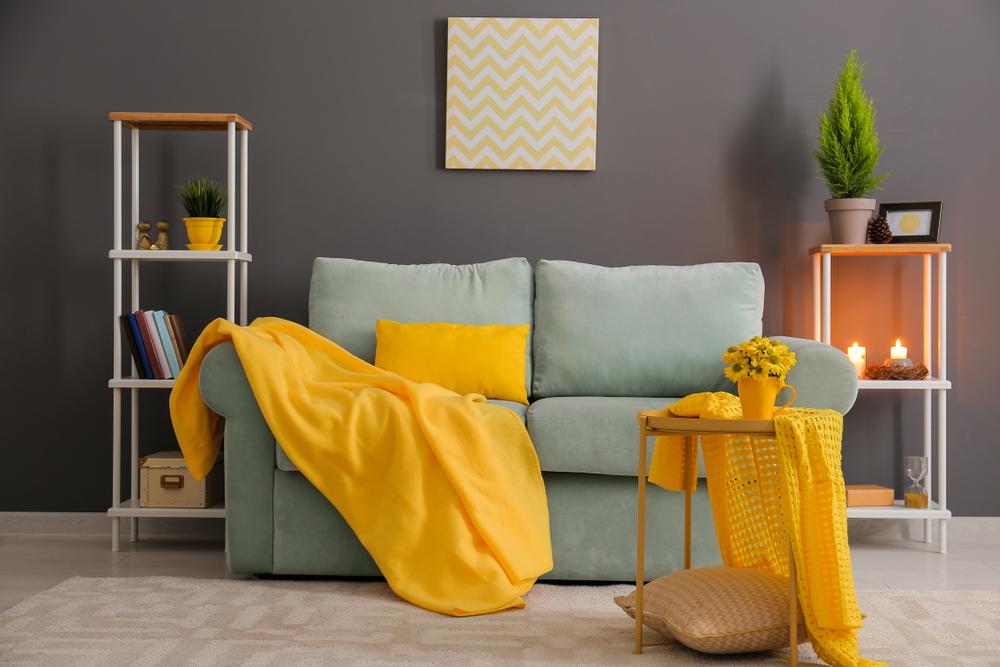 Bright little living room