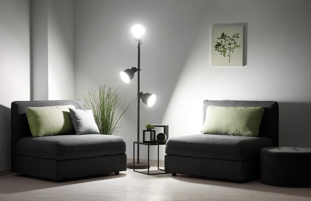 Unique little living room