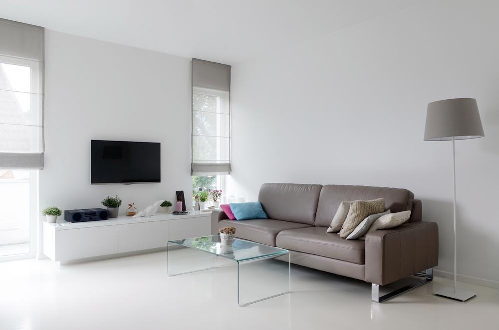 Simple modern living room
