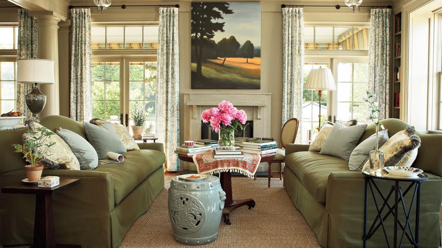 Home garden modern living room