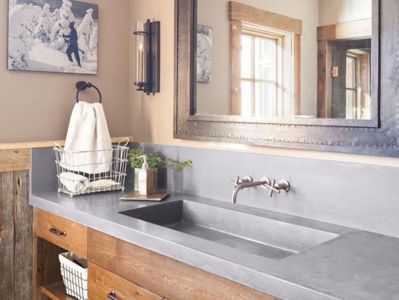 15 Bathroom Countertop Ideas 2020 (and Their Benefits) 9