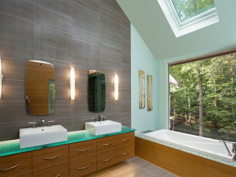 15 Bathroom Countertop Ideas 2020 (and Their Benefits) 13