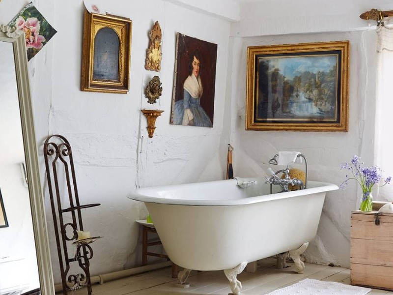 15 Country Bathroom Ideas 2020 (inspirations for creating scenes) 2