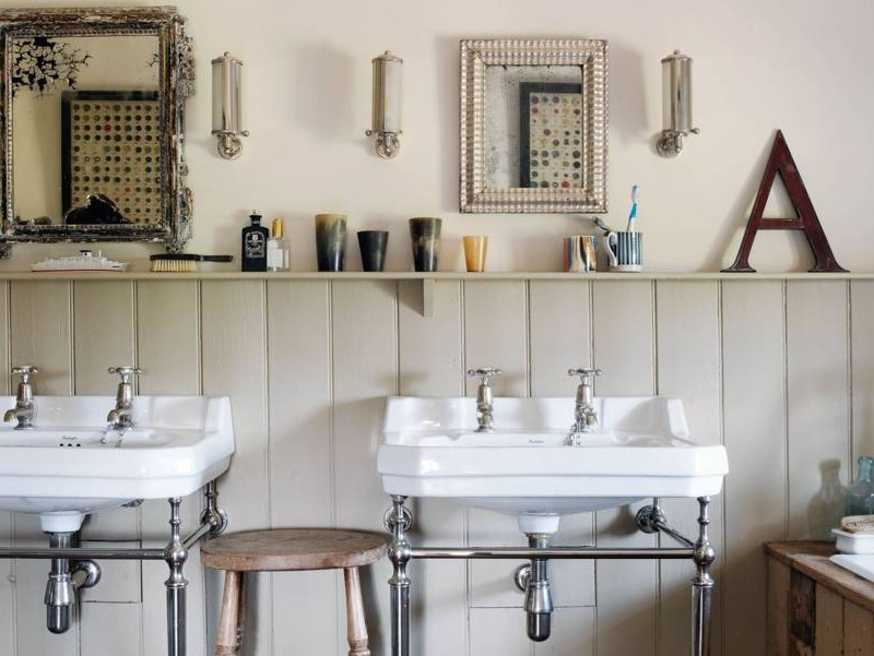 15 Country Bathroom Ideas 2020 (inspirations for creating scenes) 4