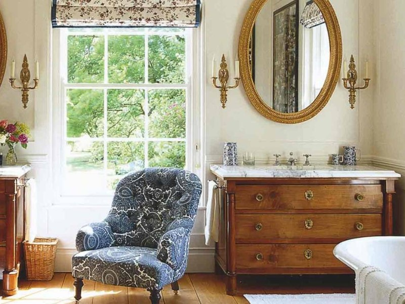 15 Country Bathroom Ideas 2020 (inspirations for creating scenes) 10