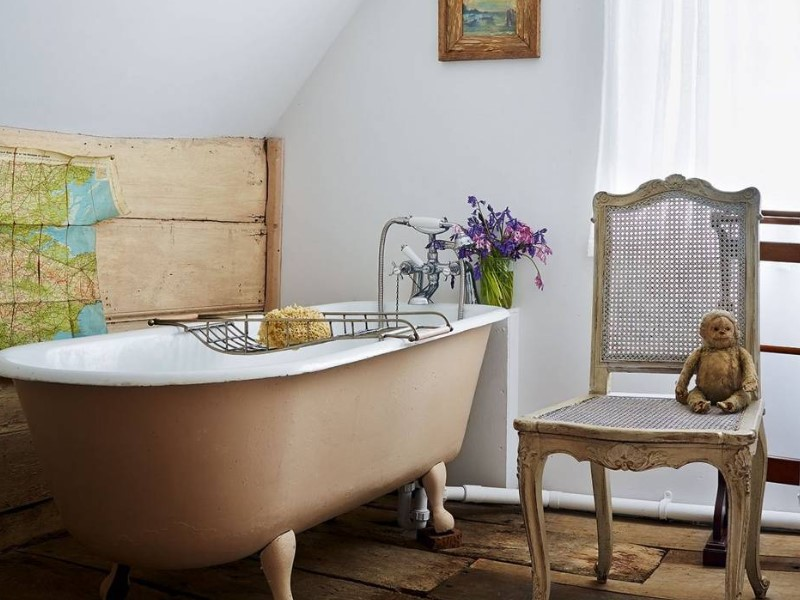 15 Country Bathroom Ideas 2020 (inspirations for creating scenes) 11