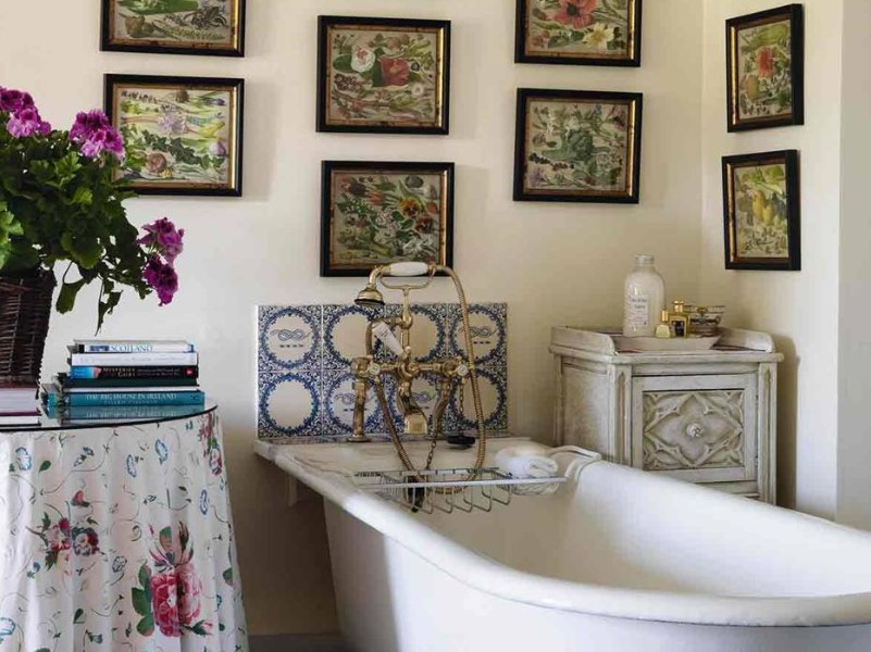 15 Country Bathroom Ideas 2020 (inspirations for creating scenes) 13