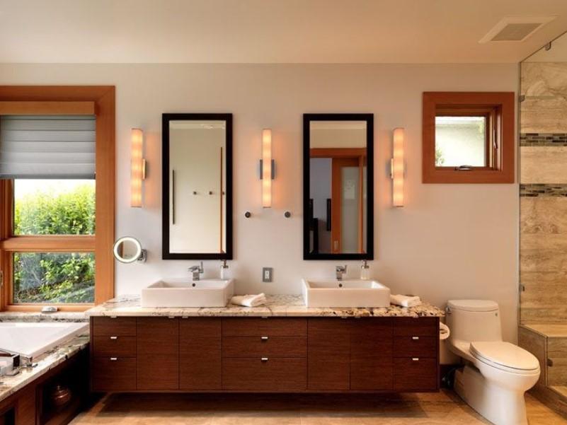 15 ideas for bathroom mirror 2020 (increase your bathroom value) 3