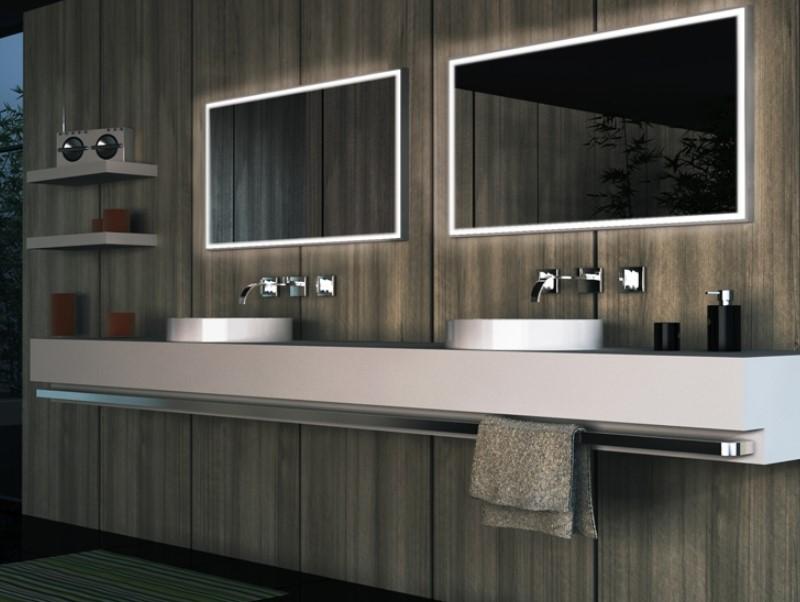 15 ideas for bathroom mirror 2020 (increase your bathroom value) 4