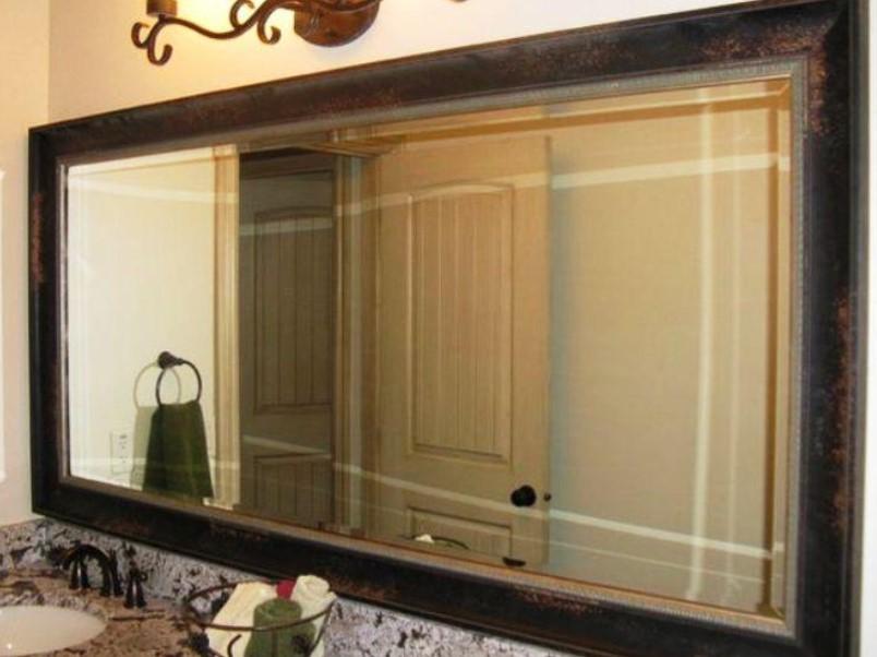 15 ideas for bathroom mirror 2020 (increase your bathroom value) 9