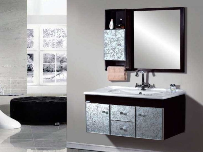 15 ideas for bathroom mirror 2020 (increase your bathroom value) 8